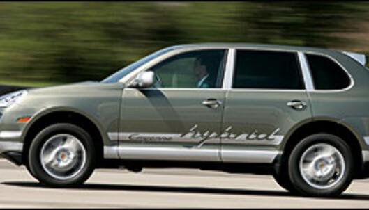 Porsche har allerede vist et hybridkonsept