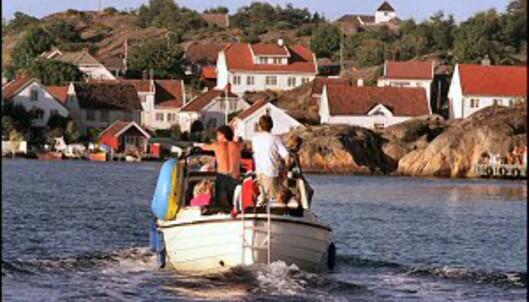 Sørlandet er verdt et besøk. Her fra Kristiansand. Foto: Anders Martinsen/Inspirasjon Sørlandet