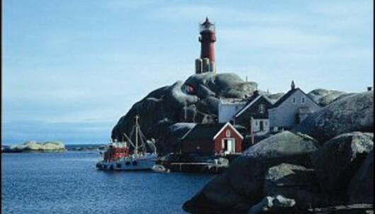 Svenner fyr ligger vakkert til utenfor Larvik og Stavern. Foto: Kystkulturlosen