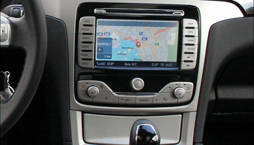 Utsyrsnivå Ghia - navigasjon er ekstrautstyr