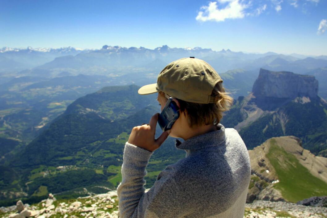 Undersøk hvilke priser som gjelder før du begynner å ringe i ferien. Illustrasjonsfoto: Colourbox.com Foto: colourbox.com