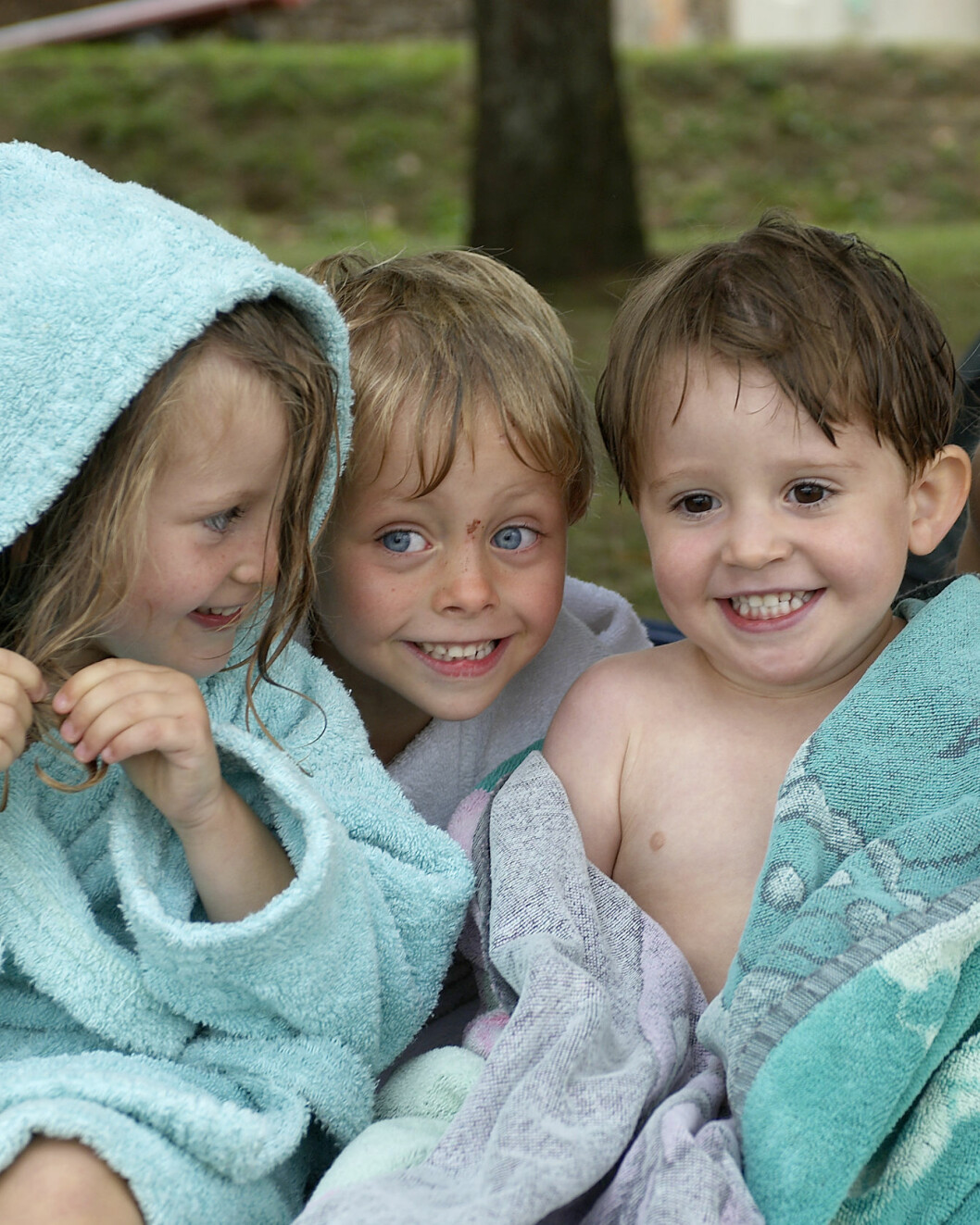 ©Bettina Brinkmann/MAXPPP - Berry/Indre, le 15/08/2005  -  ILLUSTRATION enfants    ****AUTORISATION OK**** Foto: MAXPPP