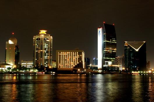 Dubai by night. <i> Foto: Jeff Verfara</i> Foto: Jeff Vergara