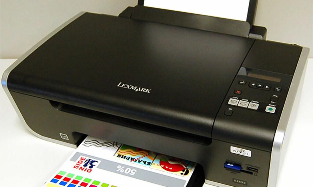 image: Lexmark X4650