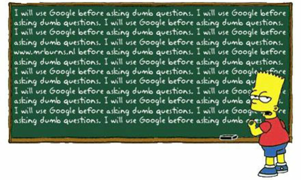 image: Husk å Google først