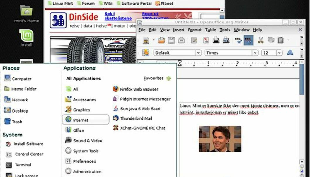 Linux Mint 5 er klar