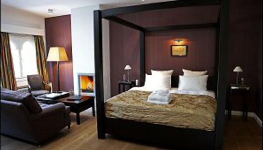 Maskulin og elegant suite. Foto: Nimb/Tivoli