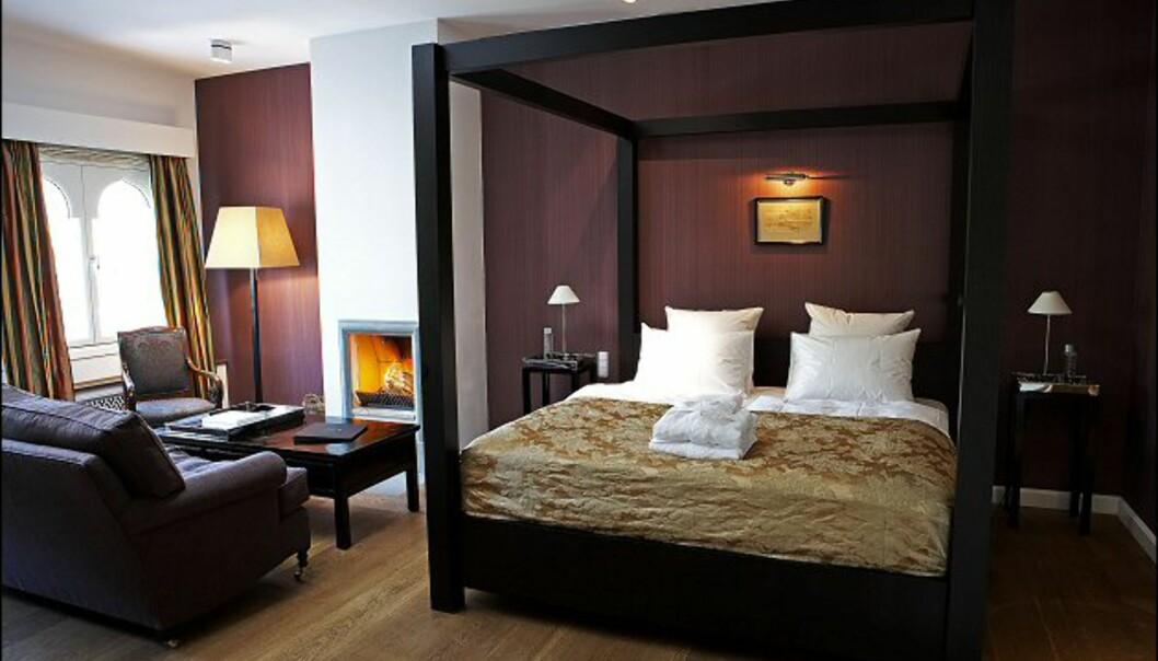 Luksuriøst og moderne, men ikke kaldt på Nimbs suiter. Foto: Nimb/Tivoli