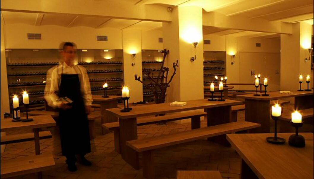 Hotellet har eget vinotek. Foto: Nimb/Tivoli