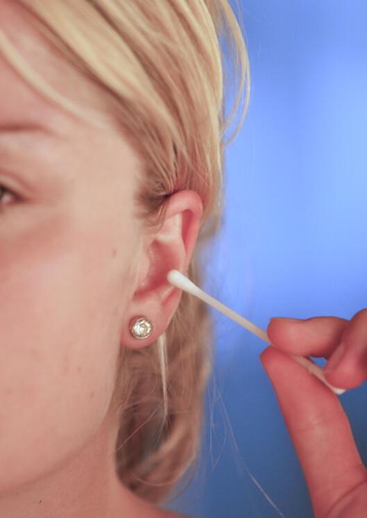 Du bør aldri bruke Q-tip i øret, sier doktor Oz. Illustrasjonsfoto: Colourbox Foto: Illustrasjonsfoto: Colourbox