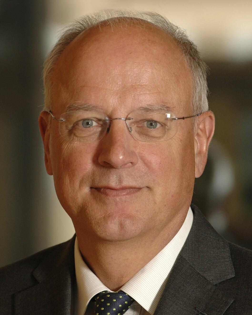 Visesentralbanksjef Jan F. Qvigstad <i>Foto: Nancy Bundt </i>