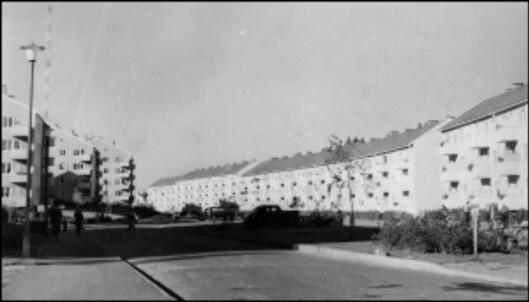 Obos-blokkene på Bergkrystallen fra 50-tallet. <I>Foto: Obos</i>