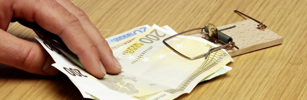 Lånet ditt kan bli dyrere som følge av den internasjonale finansuroen. <i> Illustrasjonsfoto: Colourbox</i>