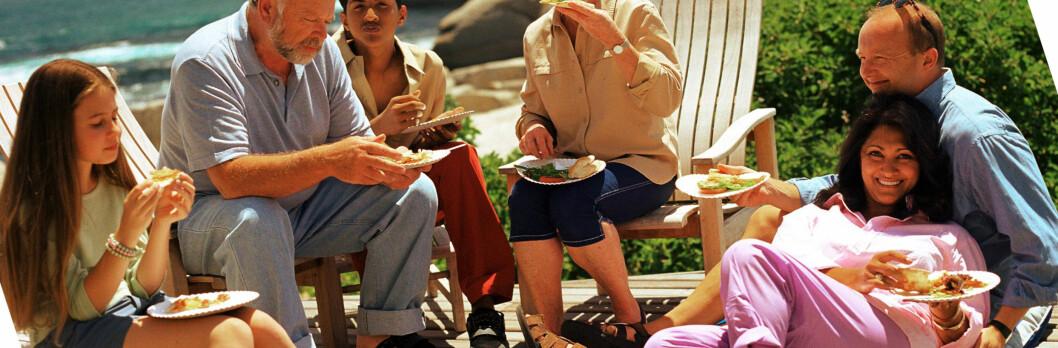 Skal du bygge terrasse i sommer? Det er mye å spare på å kjøpe materialene riktig sted. <i>Illustrasjonsfoto: Colourbox.com</i> Foto: colourbox.com