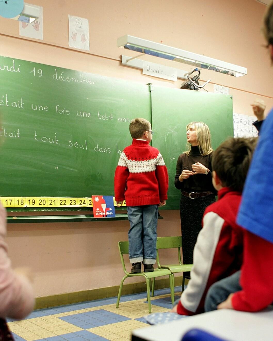 Bonus til flinke lærere