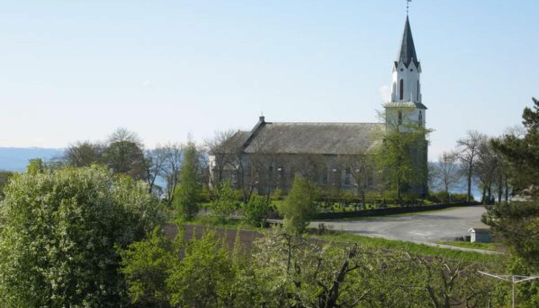 Sakshaug nye kirke