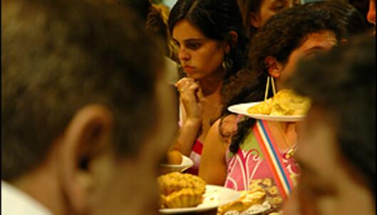 Det kan være vanskelig å velge på tapasbar i San Sebastian. <i>Alle foto: Hans Kristian Krogh-Hanssen</i>