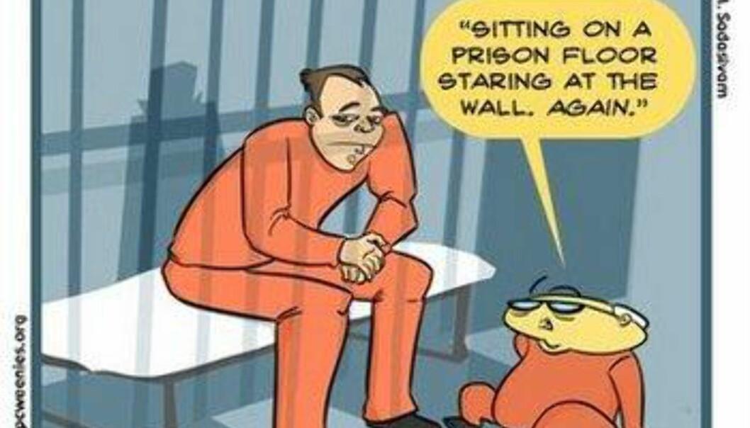 Verdens verste fengsels-kamerat?