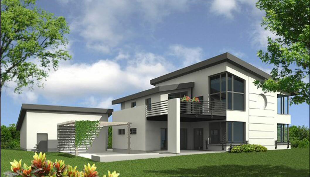 <i>Dimmen Villa</i> fra Urbanik Hus. <i>Bildet er gjengitt med tillatelse fra produsenten.</i>