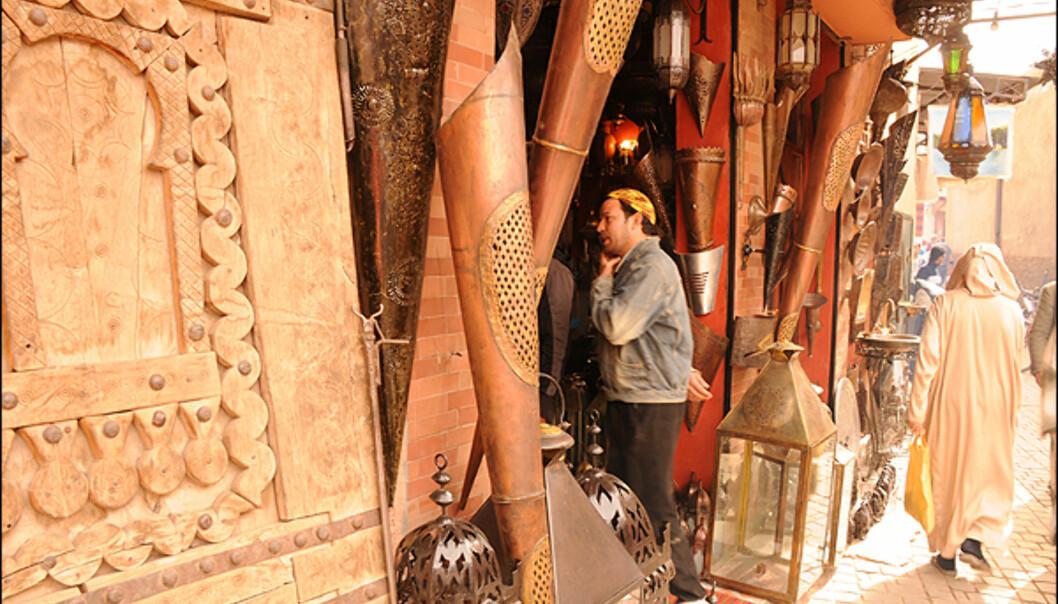 Et besøk i Marrakech sine souker er unikt med tanke på både shopping og opplevelser.