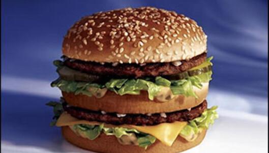 BigMac er også billigere i burgerens hjemland. <i>Foto: McDonald's</i>