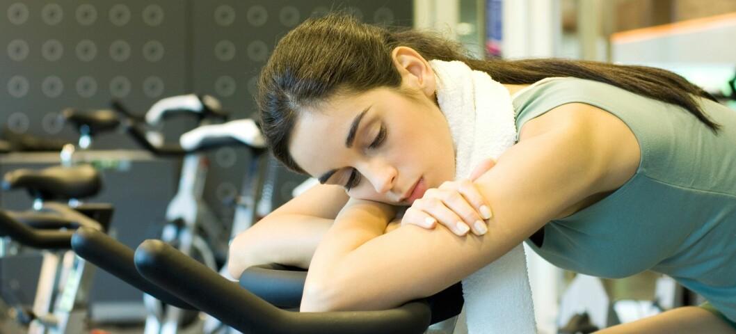 Er det dette du kaller trening, er det kanskje ikke rart du ikke ser resultater... Illustrasjonsfoto: Colourbox.com Foto: 6PA/MAXPPP