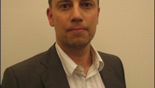 Christian Dreyer, ny leder i NEF. <i>Bilde: NEF.</i>