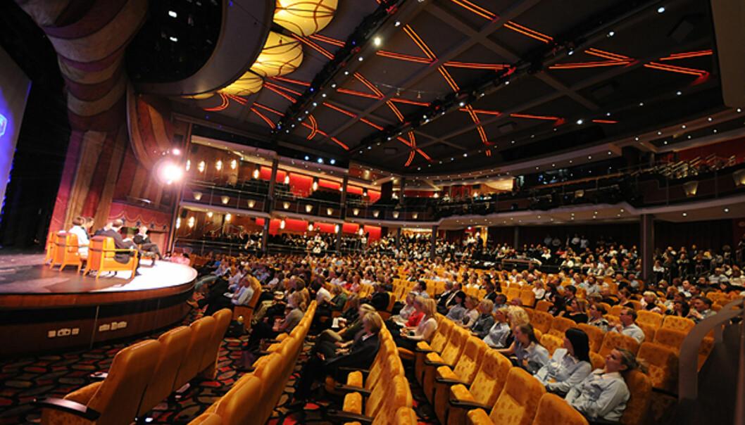 Teateret rommer nesten dobbelt som mange mennesker som Nationalteatret. 1.350 personer.