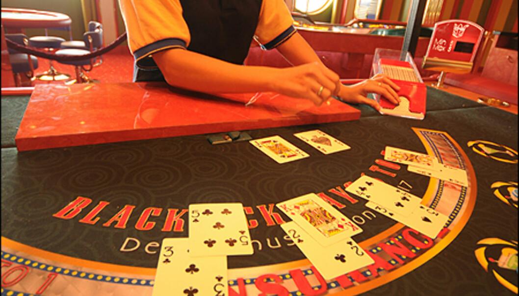308 spilleautomater og 19 spillebord finner du i kasinoet.