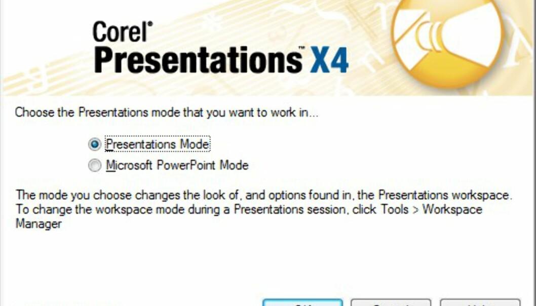 Bilder fra WordPerfect Office X4