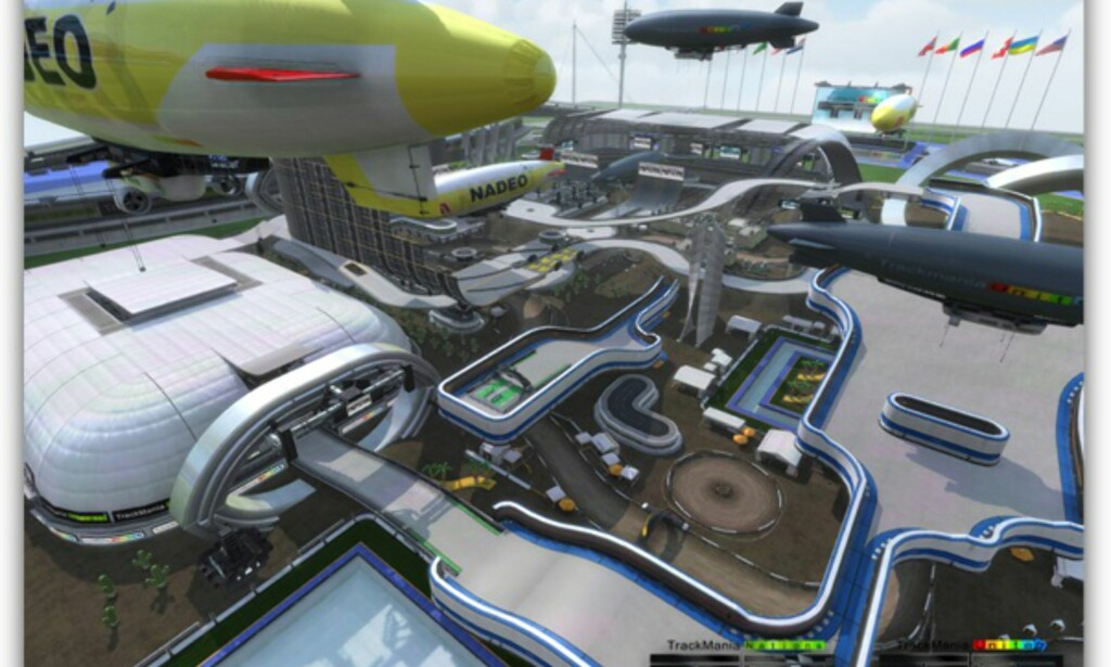 image: Trackmania Nations Forever