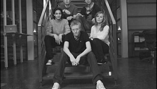 Teamet med samlet snittalder på knapt 18 år. Foto: Minus21.dk