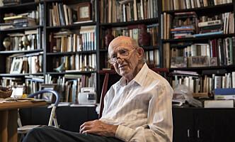 <strong>HEVNER:</strong> Joseph Harmatz var en av de drøyt 50 jødene som bestemte seg for å slå tilbake mot tyskerne etter krigen. Han er en av få som fremdeles er i live, og bor i dag i Tel Aviv. Foto: &nbsp;Tsafrir Abayov / AP / NTB Scanpix