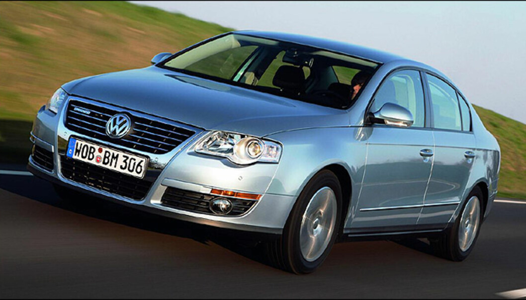 <strong>Hovedfinalist:</strong> Volkswagen Passat 1.9 TDI BlueMotion