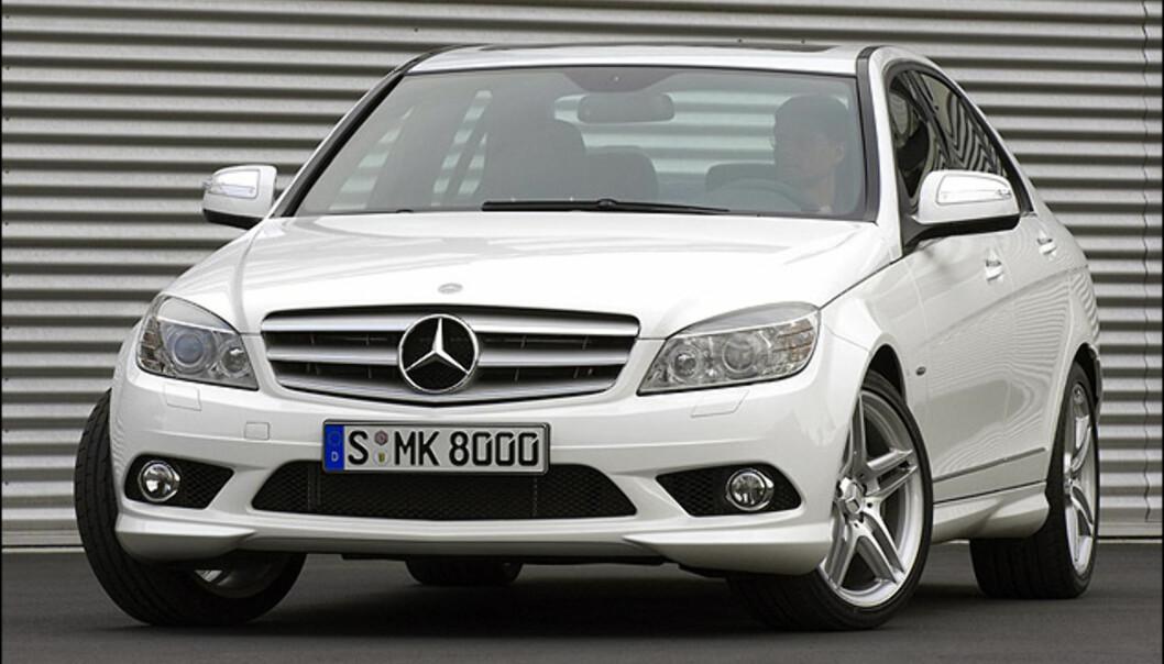 Tredjeplass: Mercedes-Benz C-klasse (728)