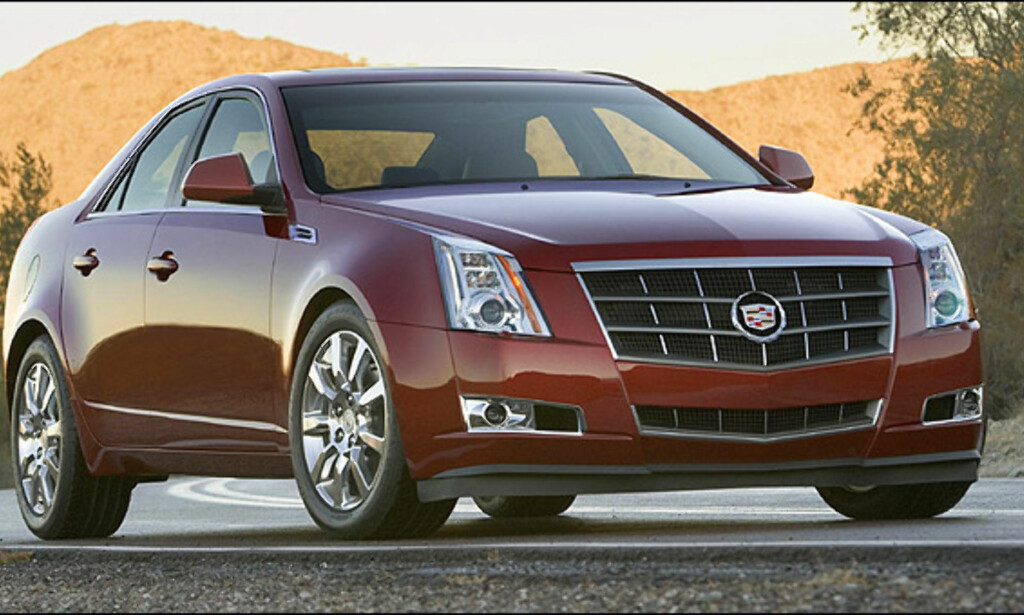 Tiendeplass: Cadillac CTS (685)