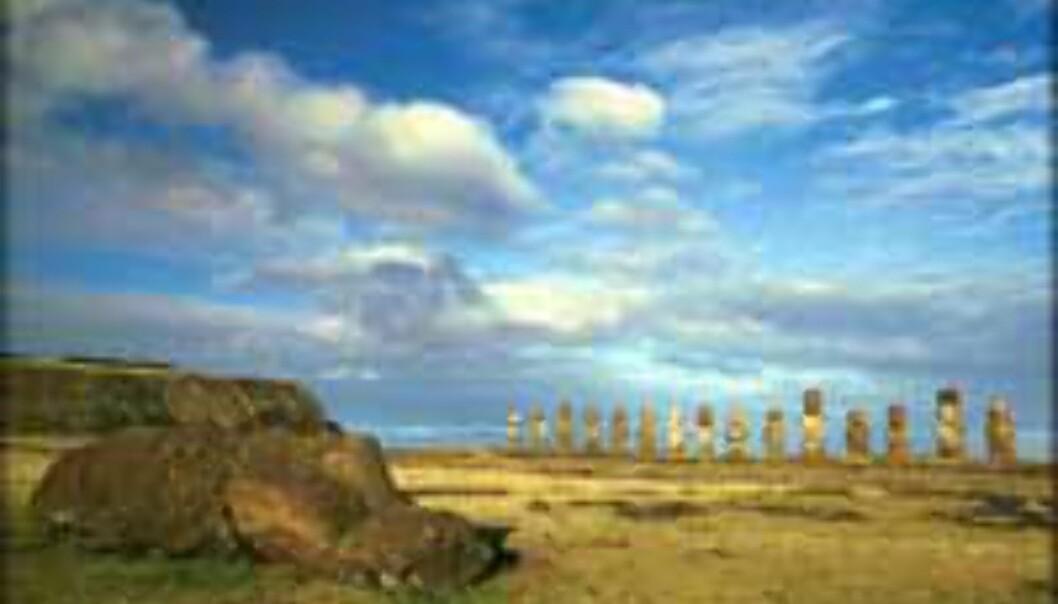 Chile slår hardt ned på dem som ødelegger statuer på Påskeøya.