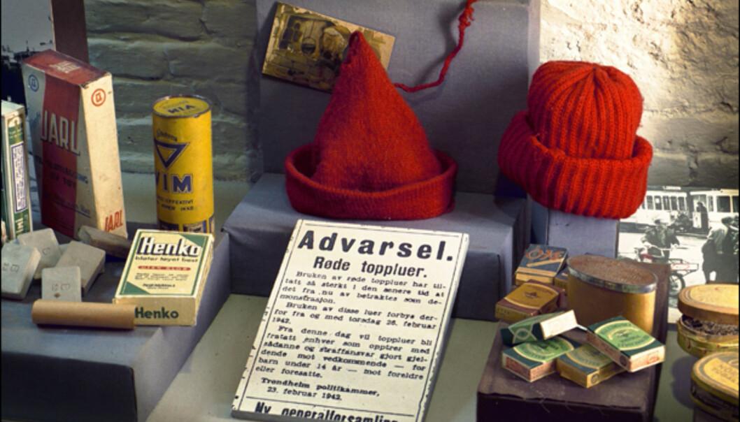 Fra utstillingen på Norsk Hjemmefrontmuseum. Foto: Forsvarets mediesenter