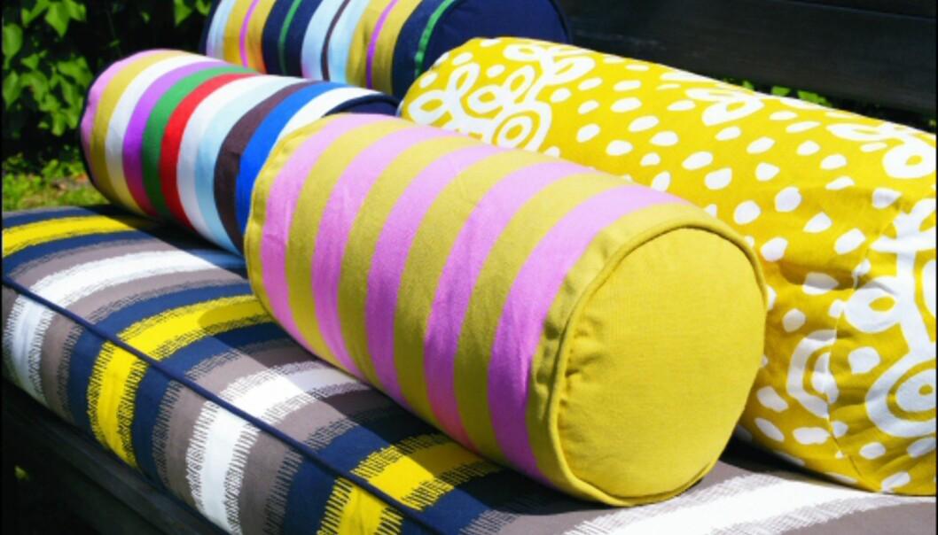 Knallgult er en av vårens store farger for uterommmet. Her fra Ikea. <i>Foto: Ikea</i> Foto: Ikea