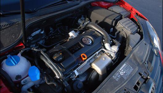 Motoren på 1,4 liter med turbo