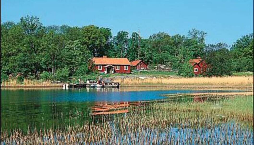 """En av de koselige """"stugorna"""" på Ängsö.  Foto: Archipangelo.nu"""