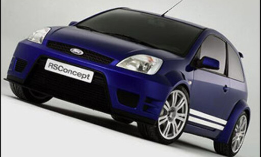 Fiesta RS Concept fra 2004