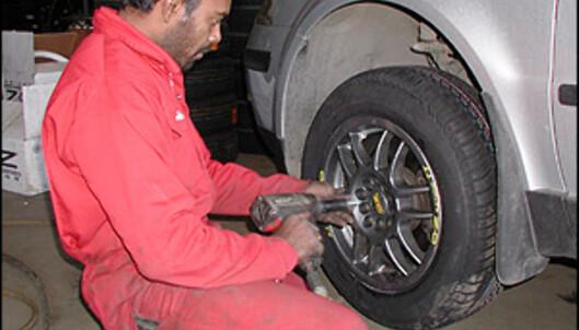 Se lenken i bunn av artikkelen for tips til hjulskift
