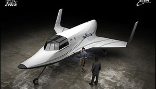 En svært nett romfarkost. Foto: Xcor Aerospace