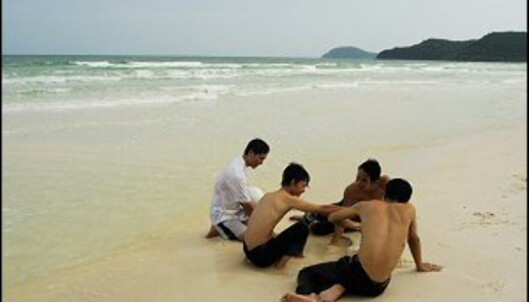 De fleste turistene som kommer til Phu Quoc er vietnamesere. Foto: Vibeke Montero