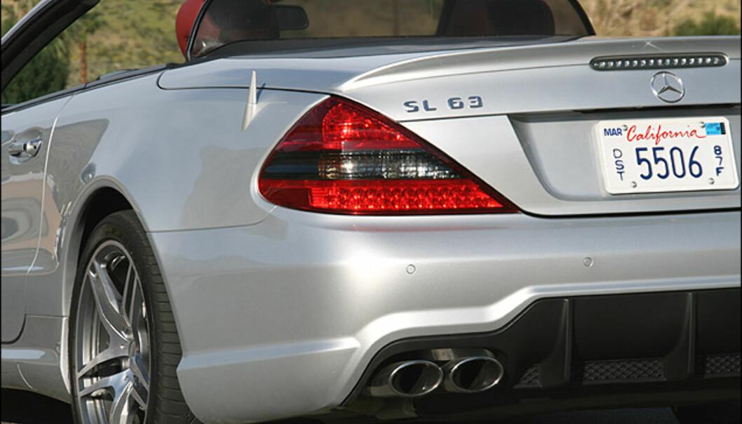 Store bilder: SL 63 AMG