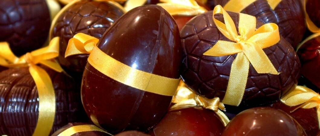 I disse påsketider kjøper vi inn sjokolade og marsipan for millioner av kroner. <i>Foto: Colourbox.com</i> Foto: colourbox.com