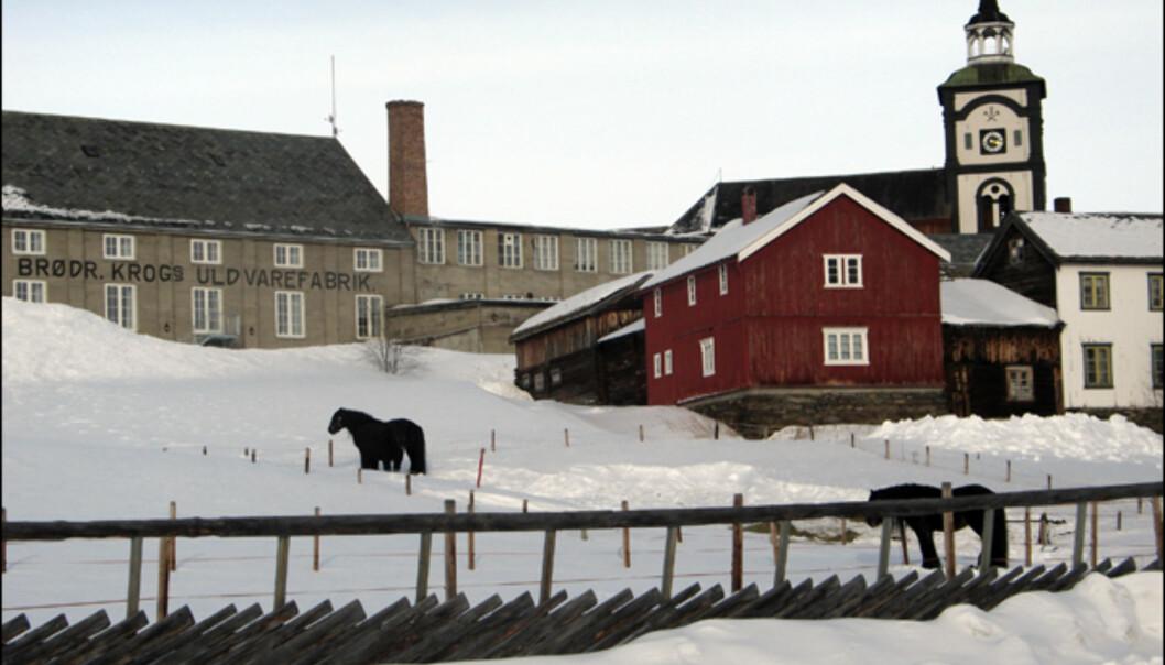 Den gamle ullvarefabrikken fra 1914 huser i dag leilighetshotell i regi av Vertshuset Røros.