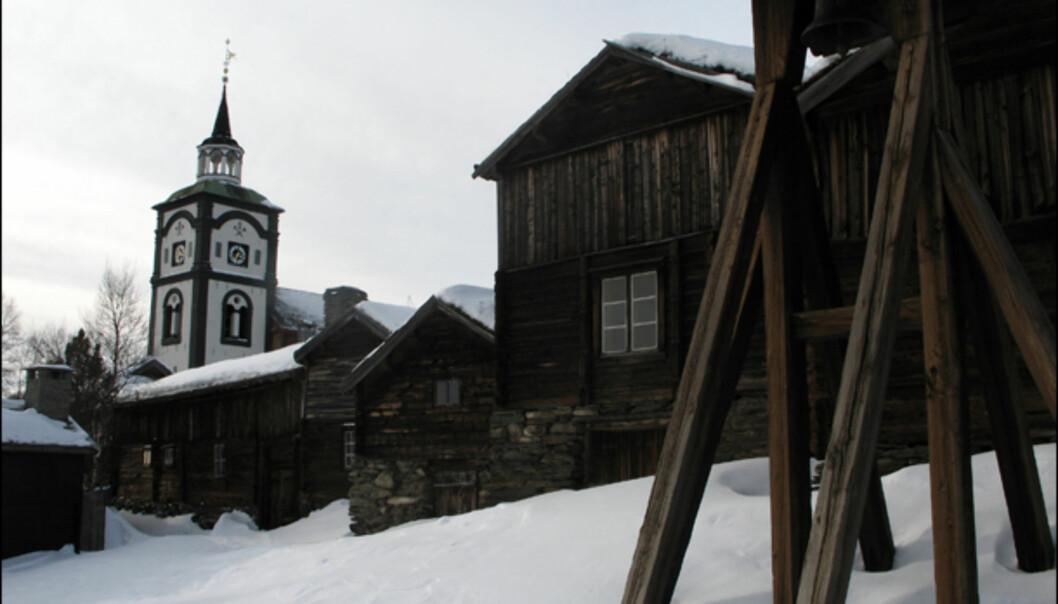 Sammen med Røros kirke, er Hyttklokka kanskje det mest kjente byggverket på Røros.