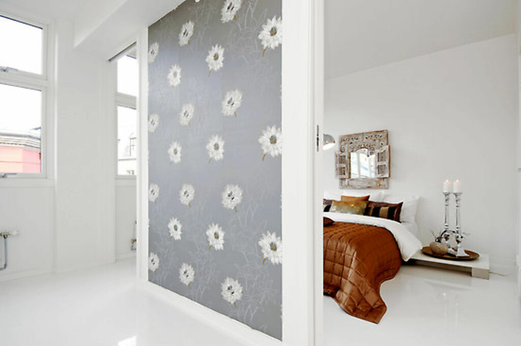 Soverommet i leiligheten stylet av Interior Deal AS. Foto: Foto: Garanti Eiendomsmegling